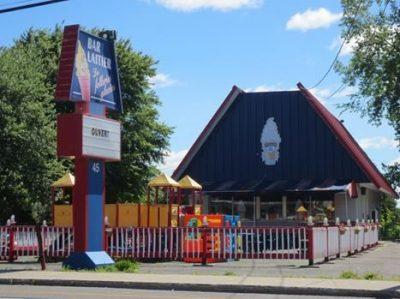 Bar laitier Les Folleries Glacées