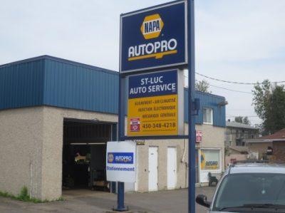 NAPA AUTOPRO St-Luc Auto Service inc.